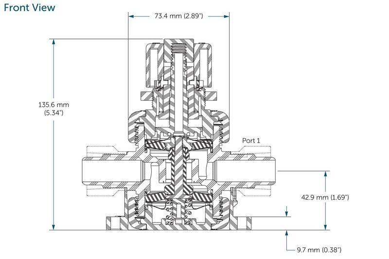 Integra® Manual Valves, 1/2