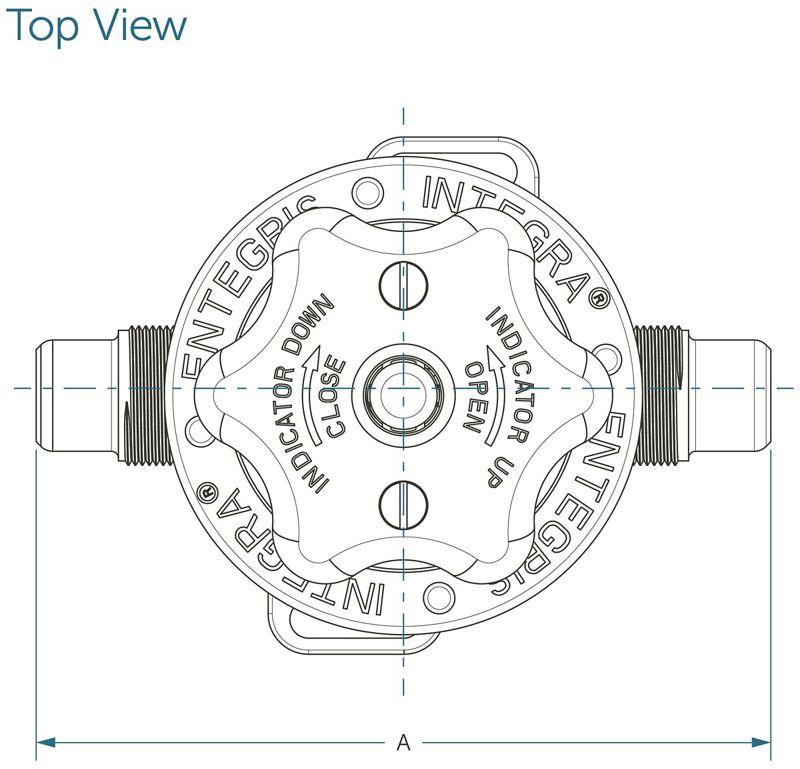Integra® Manual Valves, 3/4